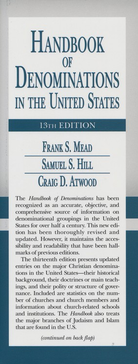 Handbook of Denominations in the United States 13th Edition