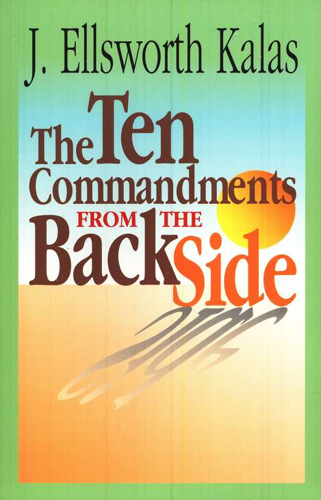 The Ten Commandments from the Back Side