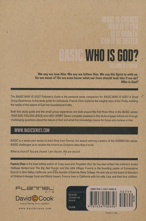 Basic.Who Is God? A Follower's Guide