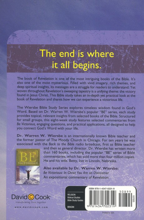 Revelation: The Warren Wiersbe Bible Study Series