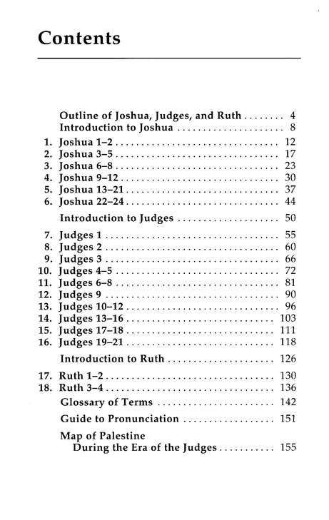 Joshus & Judges, Basic Bible Commentary, Volume 4