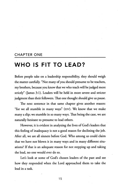 Be the Leader You Were Meant To Be: Lessons on Leadership from the Bible, repackaged