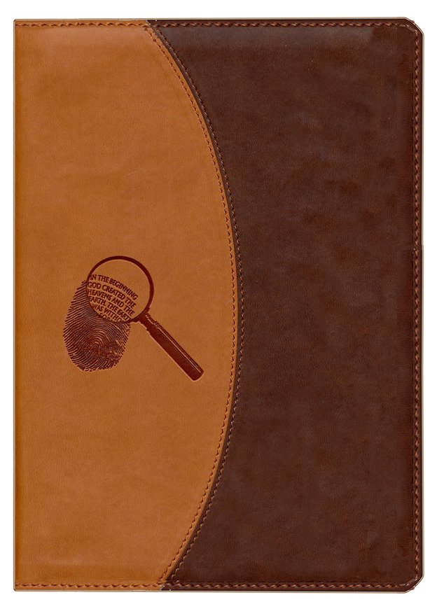 NKJV Evidence Bible, Duo-Tone Brown/Beige