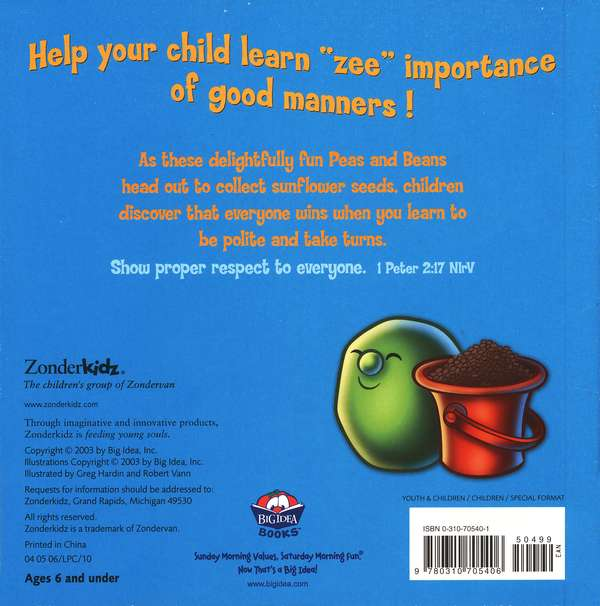Peas and Thank You! A VeggieTales Board Book