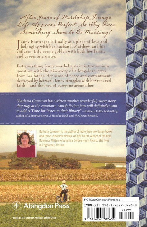 A Time for Peace, Quilts of Lancaster County Series #3