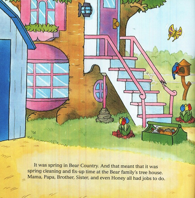Living Lights: The Berenstain Bears and a Job Well Done