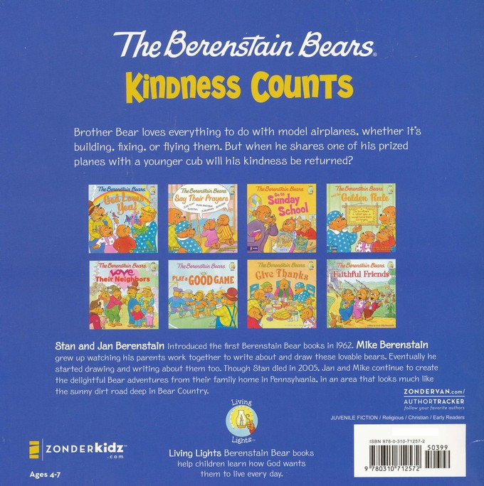The Berenstain Bears: Kindness Counts - Slightly Imperfect