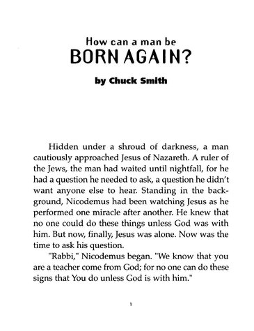 How Can A Man Be Born Again?