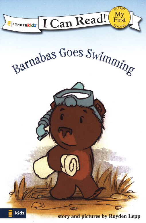 Barnabas Goes Swimming, My First I Can Read! (Shared Reading)
