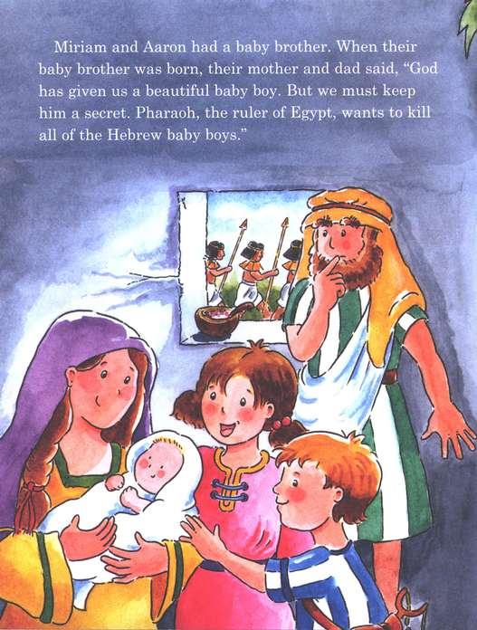 Happy Day Books, Bible Stories: Baby Moses in a Basket