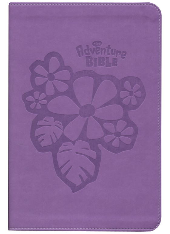 NIrV Adventure Bible for Early Readers, Italian Duo-Tone &#153, Tropical Purple