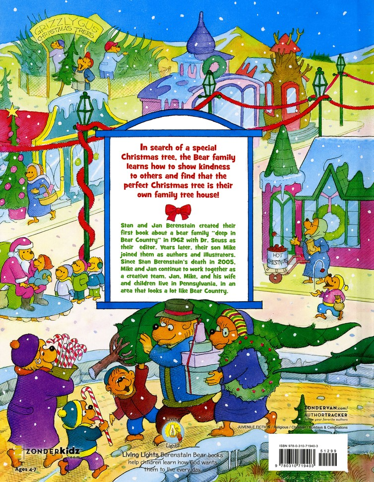 Living Lights: The Berenstain Bears Christmas Tree