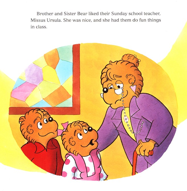 Living Lights: The Berenstain Bears All Things Bright and Beautiful