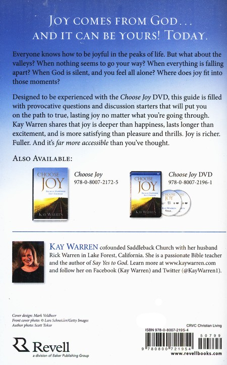 Choose Joy: Because Happiness Isn't Enough, Participant's Guide