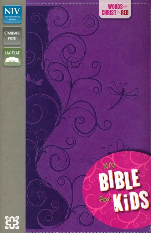 NIV Thinline Bible for Kids, Violet Duo-Tone