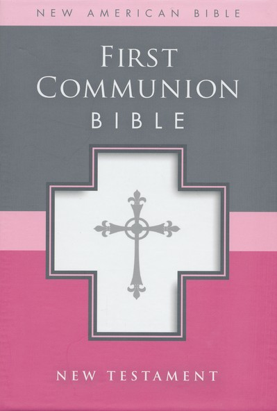 NAB, First Communion Bible: New Testament, Italian Duo-Tone, White