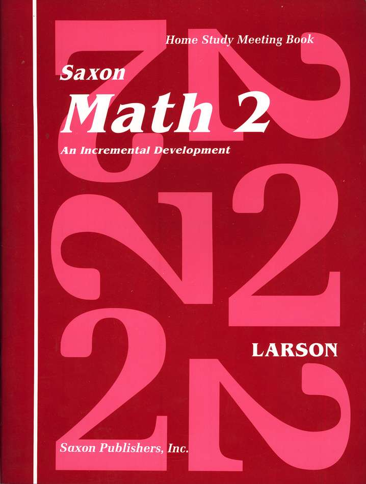 Saxon Math 2, Meeting Book