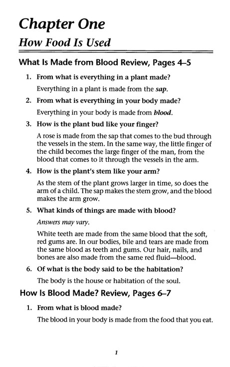Christian Liberty Nature Reader Book 5 Answer Key, Grade 5