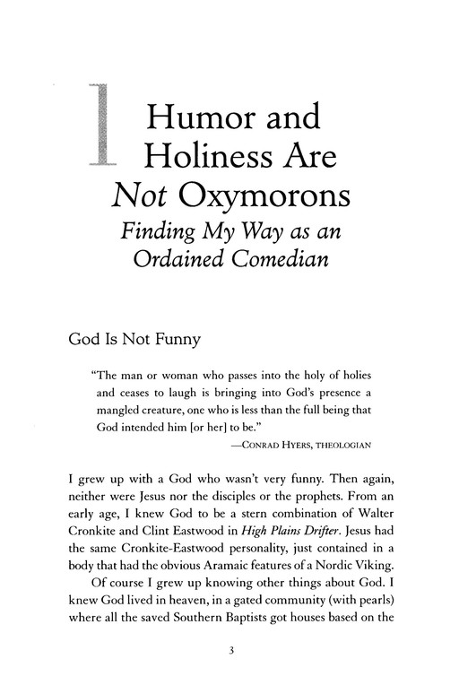 Laugh Your Way to Grace: Reclaiming the Spiritual Power of Humor