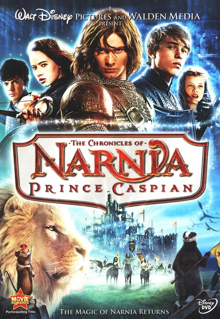 The Chronicles of Narnia: Prince Caspian (2008), DVD