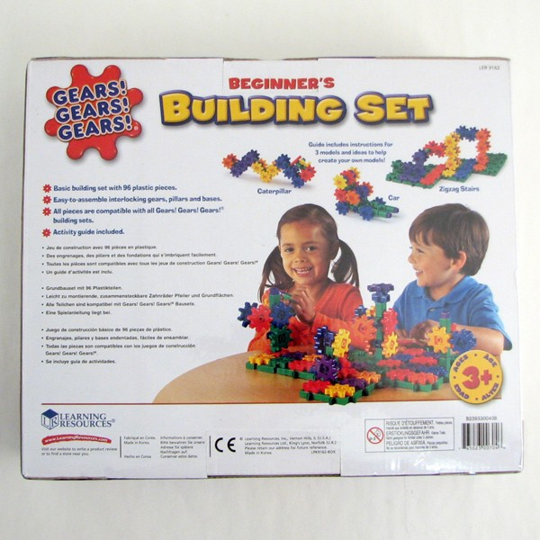 Gears! Gears! Gears! ® Building Set, Ages 3-10