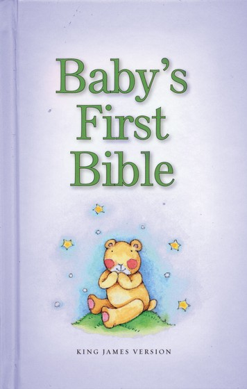 KJV Baby's First Bible, Blue