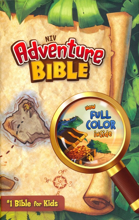 NIV Adventure Bible, Hardcover, Thumb-Indexed