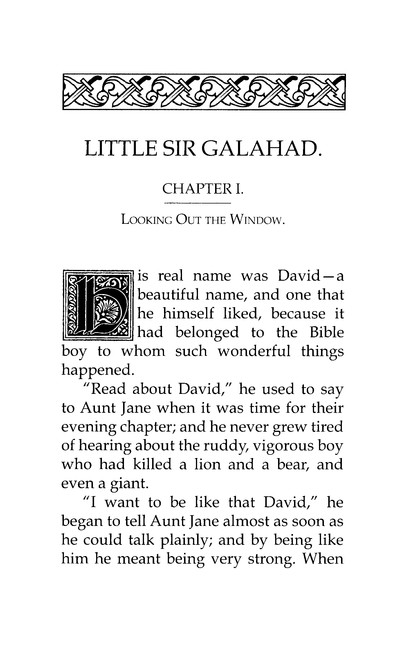 Little Sir Galahad