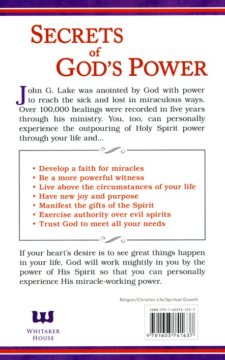 Your Power in the Holy Spirit