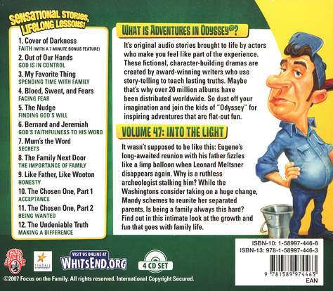 Adventures in Odyssey® #47: Into the Light: 12 Stories on: Trusting God, Facing Fear & More!