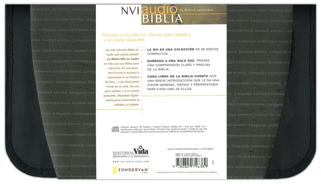 Audio Biblia NVI  (NVI Audio Bible), CD