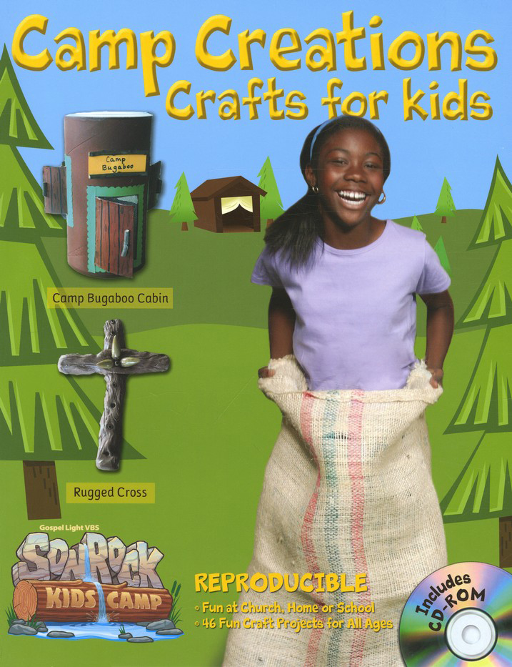 Camp Creations Crafts for Kids, with CDROM
