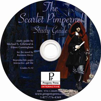 The Scarlet Pimpernel Study Guide on CD-ROM