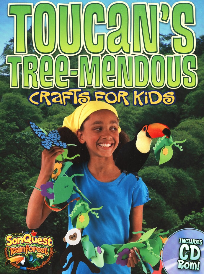 Toucan's Tree-mendous Crafts for Kids, with CD