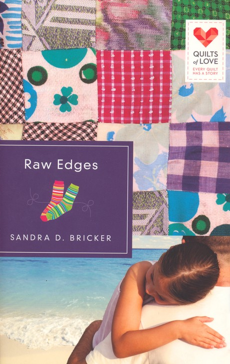 Raw Edges, Quilts of Love Series #10