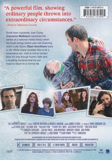 The Carpenter's Miracle, DVD