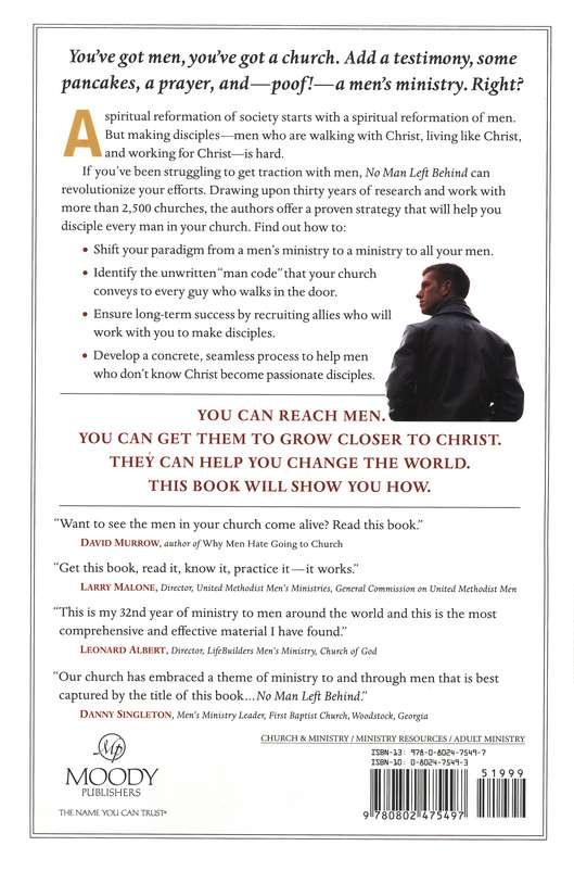 No Man Left Behind: How to Build and Sustain a Thriving Men's Ministry in Your Church