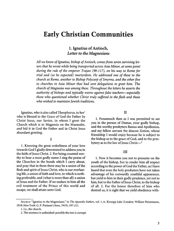 Readings in World Christian History Volume 1   Earliest Christianity to 1453