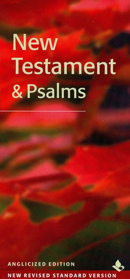 NRSV Slimline New Testament and Psalms