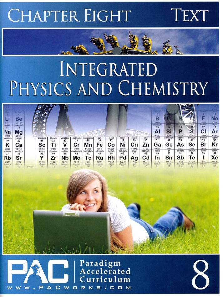 Integrated Physics & Chemistry Student Text, Chapter 8