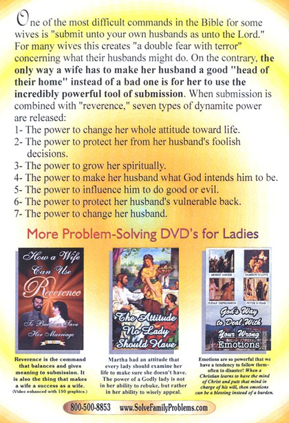 The 7-Fold Power of a Wife's Submission DVD