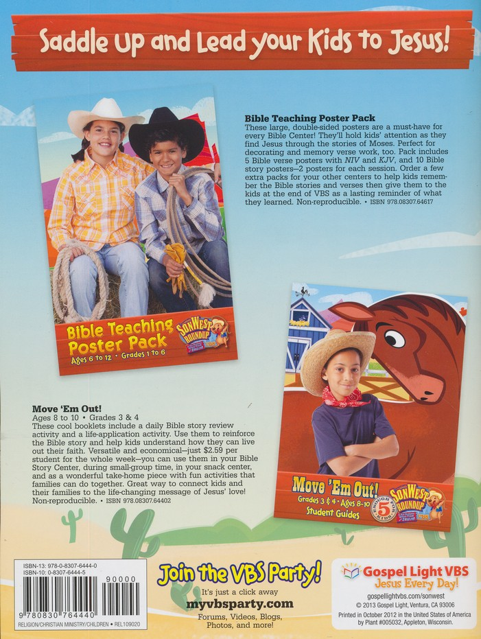 SonWest Roundup: Saddle Up! Bible Stories - Ages 8 to 10 / Grades 3 & 4