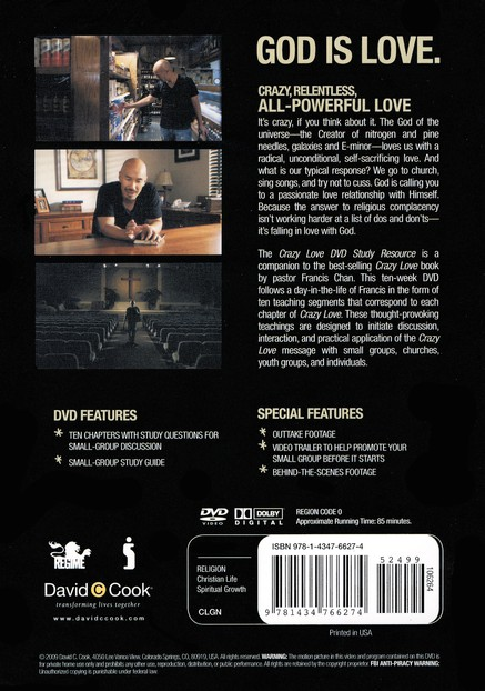 Crazy Love, Small Group DVD Curriculum