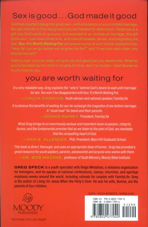 Sex: It's Worth Waiting For, Revised and Expanded Edition