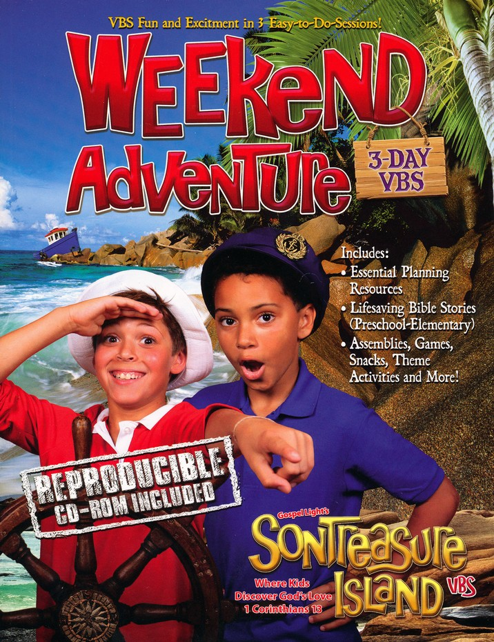 VBS 2014 SonTreasure Island - Weekend Kit