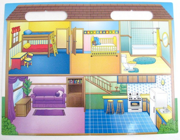 Create A Scene Magnetic Doll House