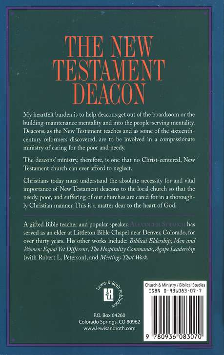 The New Testament Deacon