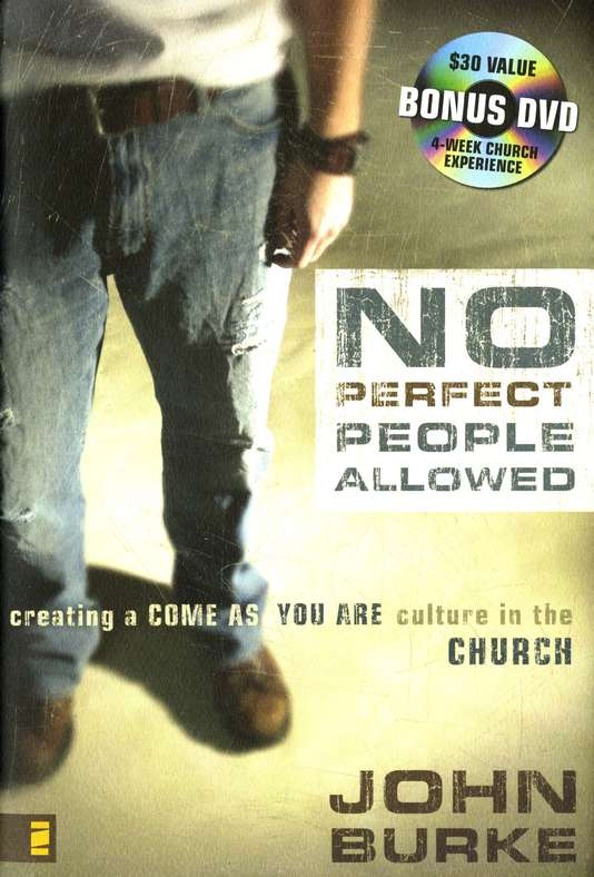 No Perfect People Allowed--Book and DVD