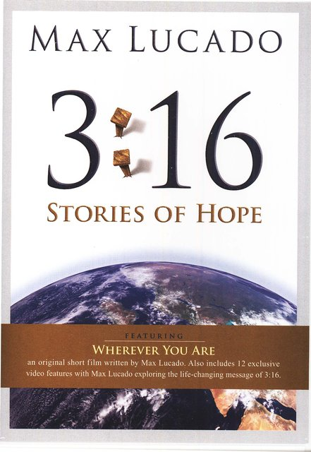 3:16- Stories of Hope DVD
