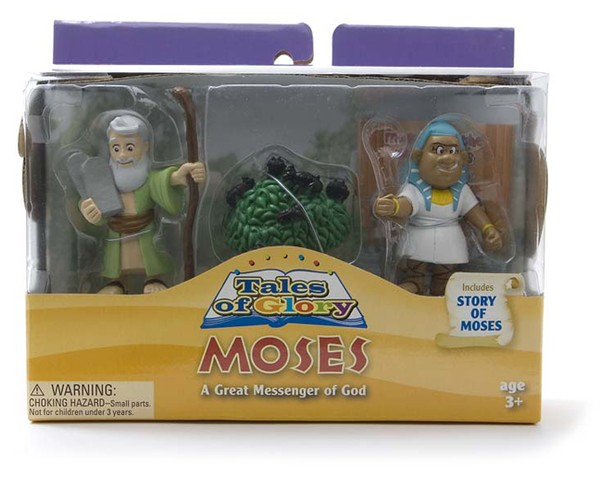 Moses and the Ten Plagues Tales of Glory Play Set